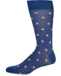 Saks Fifth Avenue - Owl Crew Socks - Lyst
