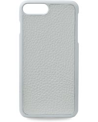 Gigi New York - Pebbled Leather Iphone 7 Plus Case - Lyst