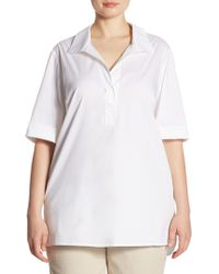 Lafayette 148 New York - Daley Blouse - Lyst