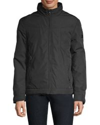 Tumi - Men's Outerwear Packable Golf Jacket - Black - Lyst