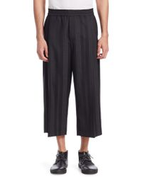 McQ - Cropped Trousers - Lyst