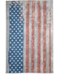 Roda - Usa Flag Scarf - Lyst