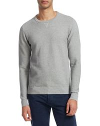 Isaia - Crewneck Cotton Sweater - Lyst