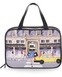 Saks Fifth Avenue - Shopaholic Leather Travel Case - Lyst