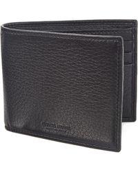 Emporio Armani - Leather Bi-fold Wallet - Lyst
