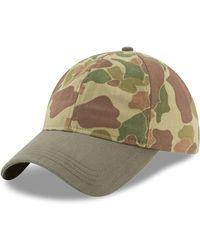 KTZ - Camouflage Cotton Baseball Cap - Lyst