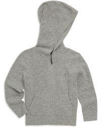 Ralph Lauren - Boy's Hooded Knit Jacket - Lyst