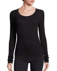 Cotton Citizen - Ribbed Supima Cotton Blend Sweater - Lyst