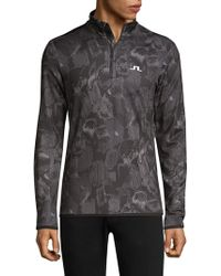 J.Lindeberg - Active Kimball Zip Pullover - Lyst