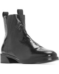 MERCEDES CASTILLO - Xandra Leather Booties - Lyst