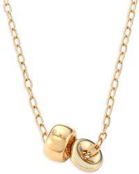 Pomellato - Iconica 18k Rose Gold Pendant Necklace - Lyst