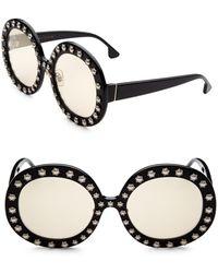 Alice + Olivia - Bel Air Round Sunglasses - Lyst