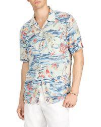 Polo Ralph Lauren - Travel Print Button-up Shirt - Lyst