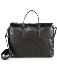 Uri Minkoff - Brompton Leather Briefcase - Lyst