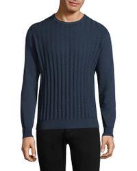 Corneliani - Crewneck Cotton Sweater - Lyst