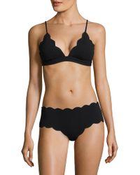 Marysia Swim - Fixed Triangle Bikini Top - Lyst