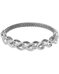 John Hardy - Chain Sterling Silver Bracelet - Lyst