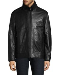 Andrew Marc - Trail Master Leather Jacket - Lyst