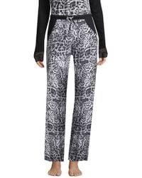Cosabella - Printed Wide-leg Pants - Lyst