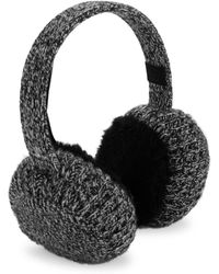 Rag & Bone - Sutton Shearling Earmuffs - Lyst