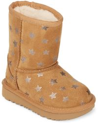 UGG - Kid's Pure Star Leather Boots - Lyst