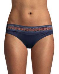 OndadeMar - Embroidered Bikini Bottom - Lyst