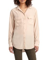 Equipment - Signature Silk Shirt - Lyst