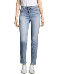 Joe's - Charlie High Rise Straight Leg Jeans - Lyst
