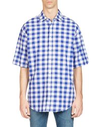 Acne Studios - Albany Checkered Button-down Shirt - Lyst