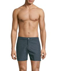 Officine Generale - Roman Polka-dot Swim Trunks - Lyst