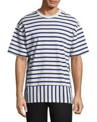 Public School - Daryl Striped T-shirt - Lyst