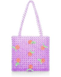 Saks Fifth Avenue - Clem Beaded Clementine-applique Tote - Lyst