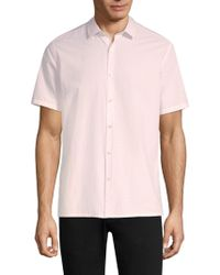 Theory - Murray Cotton Button-down Shirt - Lyst