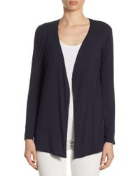 Majestic Filatures - Soft Touch Open Cardigan - Lyst