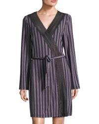 Saks Fifth Avenue - Lori Striped Robe - Lyst