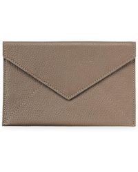 Graphic Image - Medium Leather Envelope - Lyst