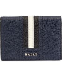 Bally - Thards Leather Card Case - Lyst