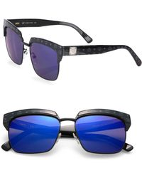 MCM - Visetos 56mm Rectangle Sunglasses - Lyst