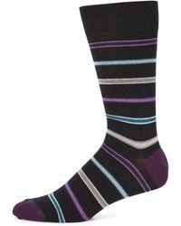 Saks Fifth Avenue | Striped Socks | Lyst