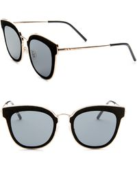 Jimmy Choo - Niles Leather Panthos Sunglasses - Lyst
