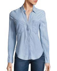 Mcguire - Shoreleave Cotton Chambray Shirt - Lyst