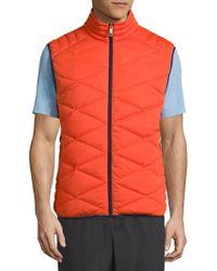 Vilebrequin - Frais Reversible Packable Quilted Vest - Lyst