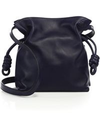 Loewe - Flamenco Knot Small Leather Shoulder Bag - Lyst