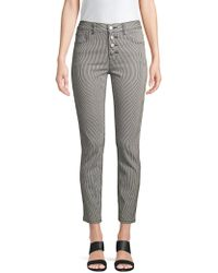 Joie - Aerindis High-waisted Striped Pants - Lyst