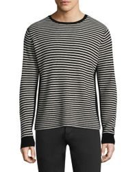Ovadia And Sons - Striped Wool Sweatshirt - Lyst