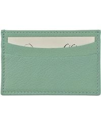 Graphic Image - Slim Design Leather Card Case - Lyst