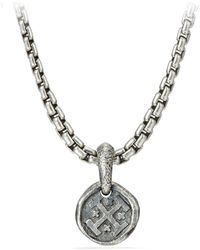 David Yurman - Sterling Silver Shipwreck Pendant - Lyst
