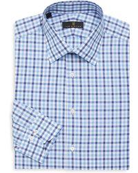 Ike Behar - Regular-fit Tonal Stripe Button-front Shirt - Lyst