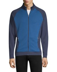 Peter Millar - Channel Corded Zip-up Sweatshirt - Lyst