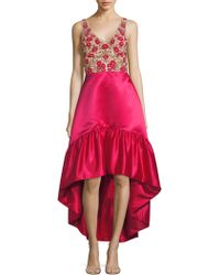 Parker Black - Brianna Hi-lo Dress - Lyst